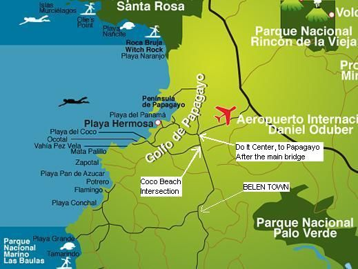 Image detail for -tamarindo beach map page 2 tamarindo beach map page 3 tamarindo beach ...