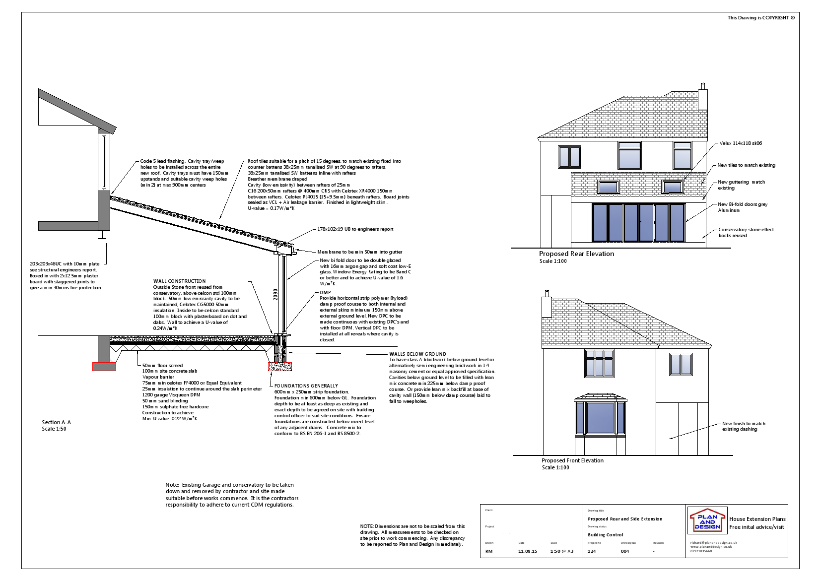 Single Storey Rear Extension Lancaster Side Extension Rear Extension Extensions