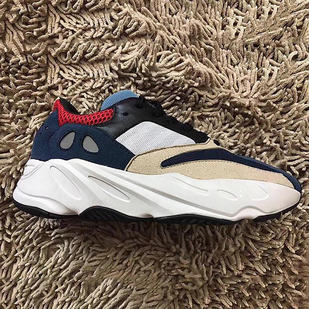 aa1a37f30 700 yeezy wave runner 700 boost adidas for sale  another new adidas yeezy  boost 700 sample emerges in navy cream red