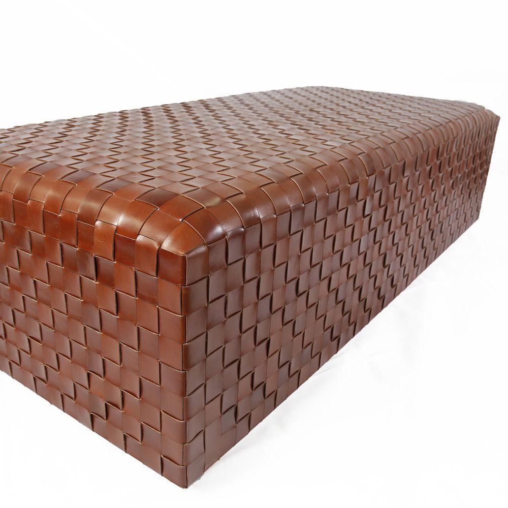 Prime Dentro Havana Woven Leather Ottoman 116 Bomonti In 2019 Lamtechconsult Wood Chair Design Ideas Lamtechconsultcom