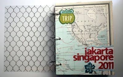 jakarta singapore travel mini book