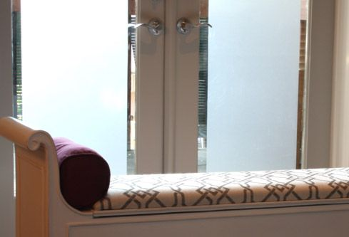 Frosting glass doors  Projects - Pure Design - HGTV Canada