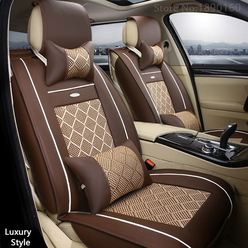 Excellent Front Rear Special Leather Car Seat Covers For Great Wall Bralicious Painted Fabric Chair Ideas Braliciousco