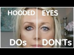 How To Master Your Eye Makeup For Hooded Eyes Makeup Over 50