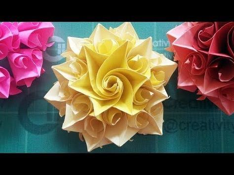 Diy handmade crafts how to make amazing paper rose origami flowers diy handmade crafts how to make amazing paper rose origami flowers for cards youtube video pinterest handmade crafts origami and cards mightylinksfo