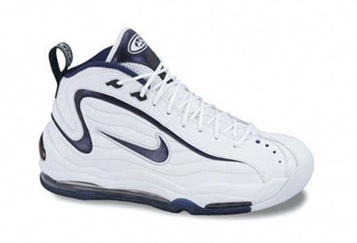 Nike Total Max Uptempo Retro White Midnight Navy  bestbasketballshoes ad2ca9775b