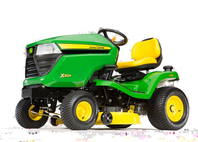 John Deere X324 Select Series X300 Lawn Tractors Johndeerecom: John Deere X304 Wiring Diagram At Hrqsolutions.co