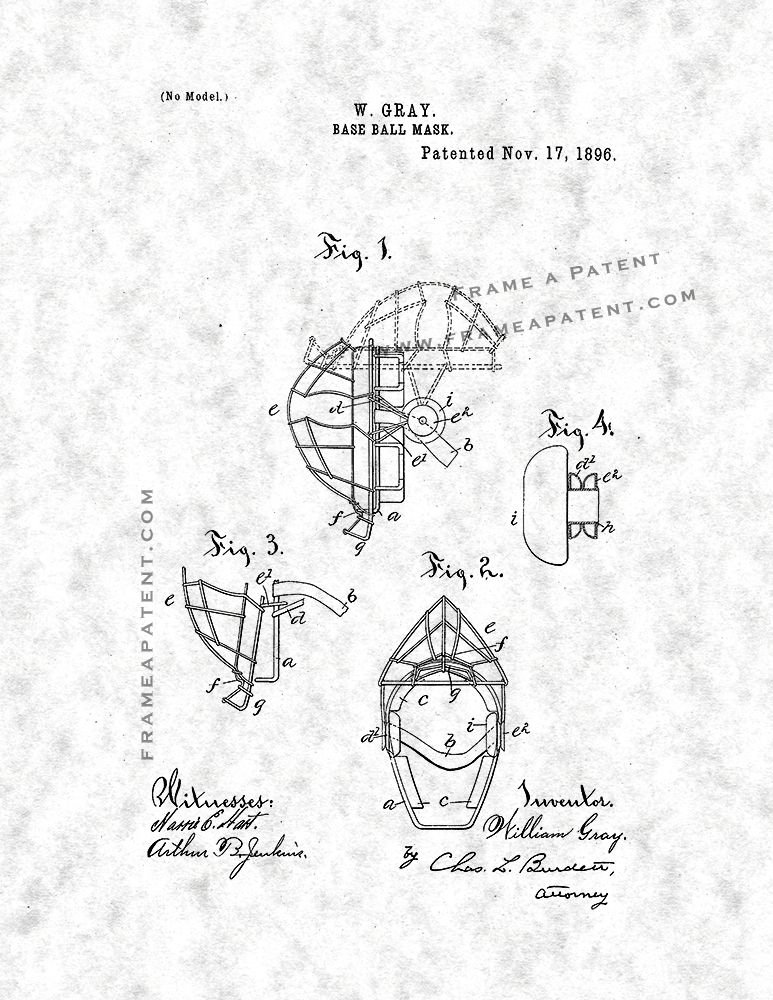 Pin By Frame A Patent On Baseball Patent Prints