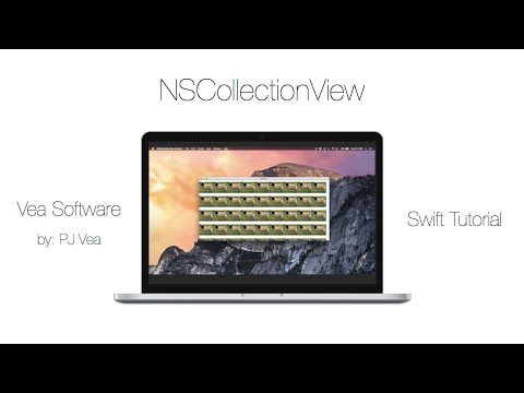 NSCollectionView in Swift - Xcode 7 OS X 10 11 Tutorial — Vea