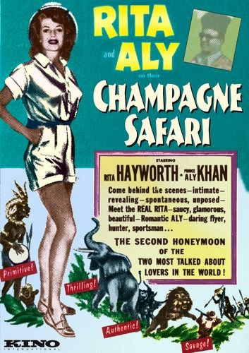 champagne safari 1954
