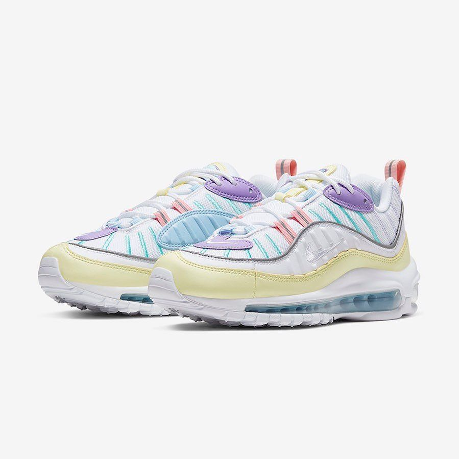 premium selection 7363f 65cb4 The NIKE AIR MAX 98 whips up a pastel rainbow colourway ...