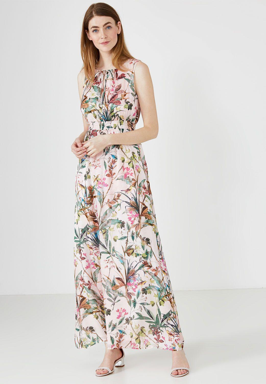 maxi-seidenkleid von hallhuber   mode, mode online kaufen