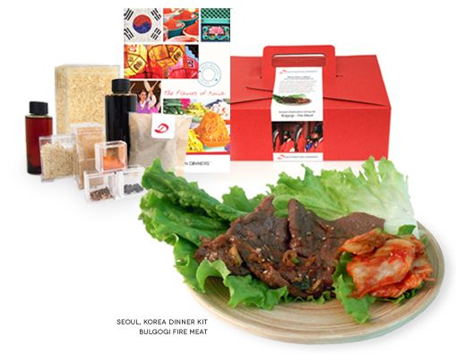 Prepare to experience an authentic Korean dinner!