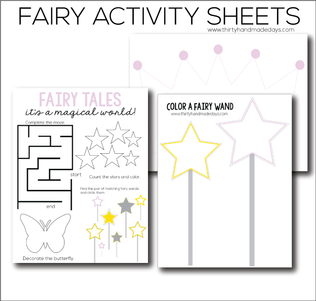 fairy printable worksheets printables fairy tale activities fairy tale crafts printable. Black Bedroom Furniture Sets. Home Design Ideas