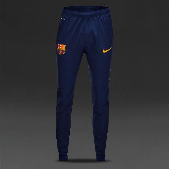 0957be18814 Nike FC Barcelona Rev Woven Track Pants El - Loyal Blue Htr University Gold