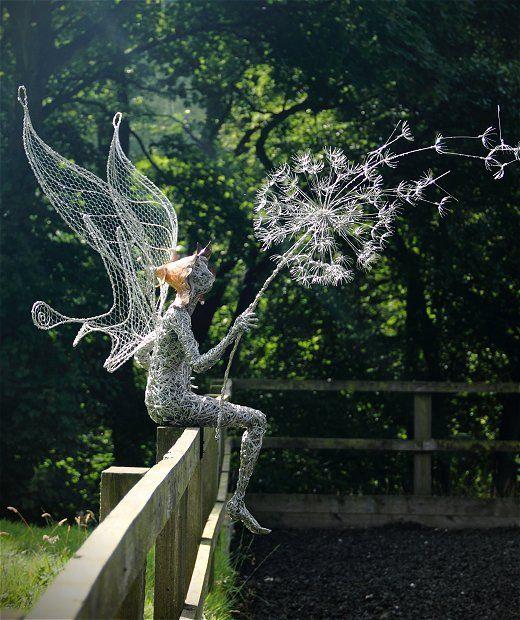 Escultura para compor seu jardim.