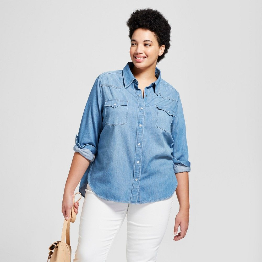 5adb5237 Plus Size Western Button Down Shirts – EDGE Engineering and ...