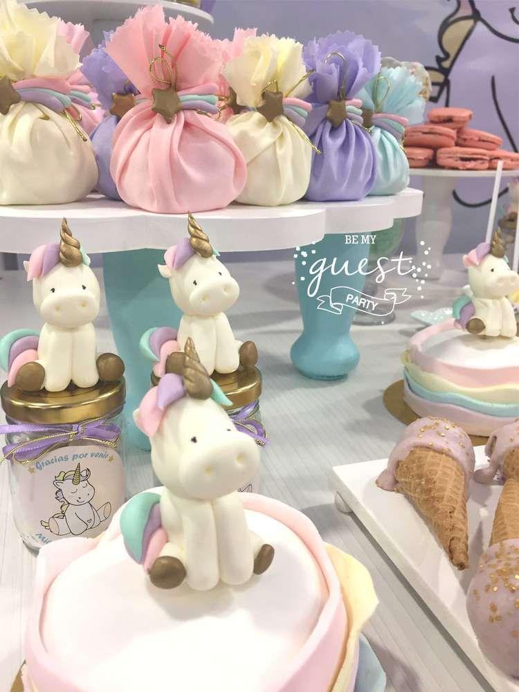 Milagros Unicorn 1st birthday party