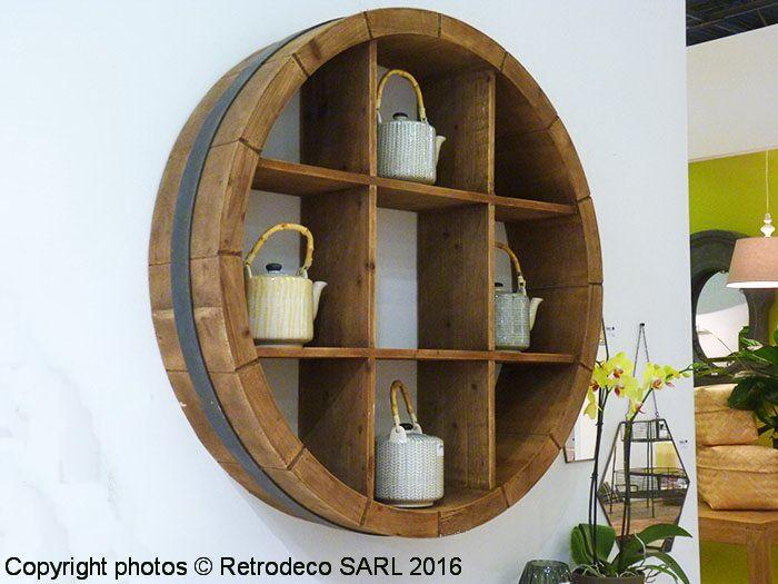 Bien connu Coup de coeur pour cette étagère murale en bois Sallanches  IO41
