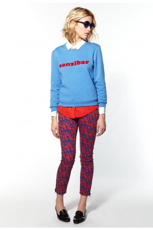 Claudie Pierlot SS13 - Pantalon Poppy