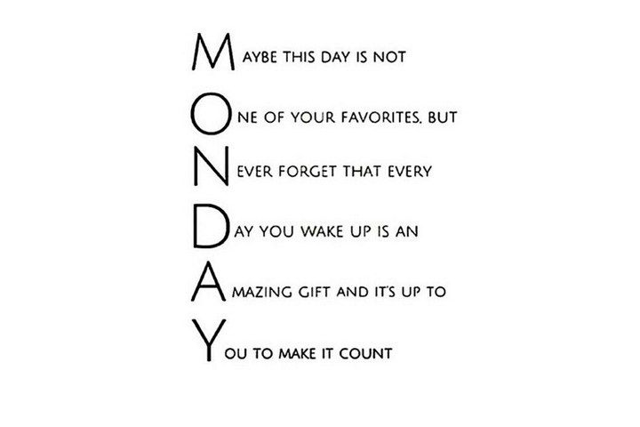 7 Quotes Om Jouw Maandag Spetterend Te Beginnen