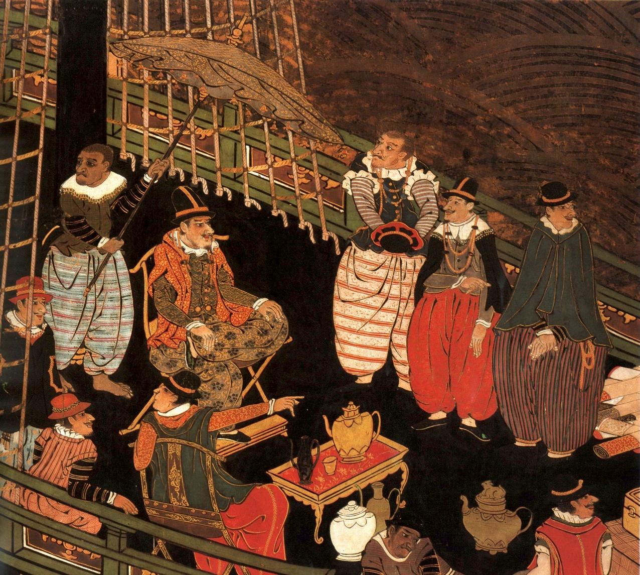 南蛮スクリーン」1590年代   日...