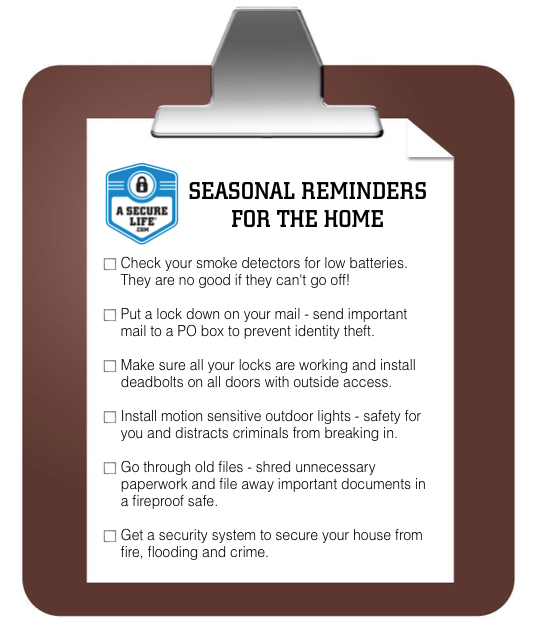 Spring Home Maintenance Your To Do List Home Safety Home Security Tips Best Home Security System