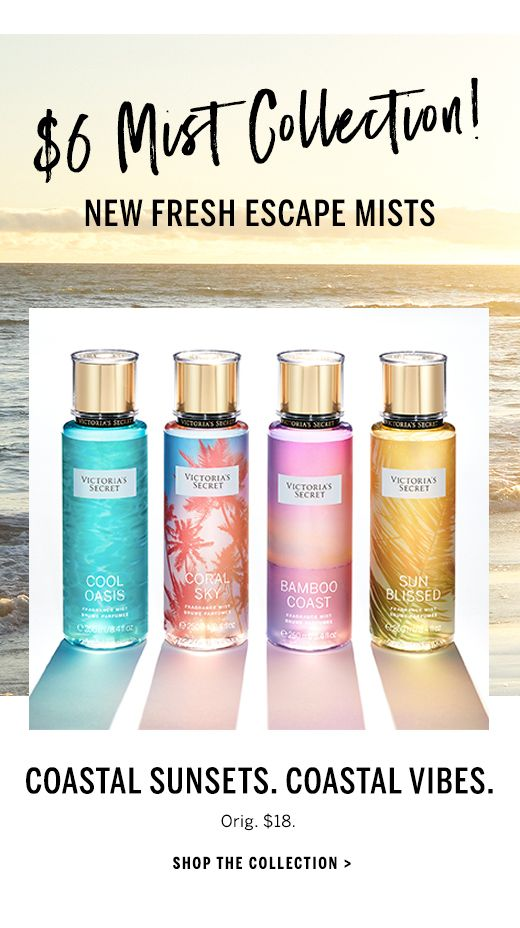 ca4ca852d9 Victoria s Secret Fresh Escape Mists    Cool Oasis