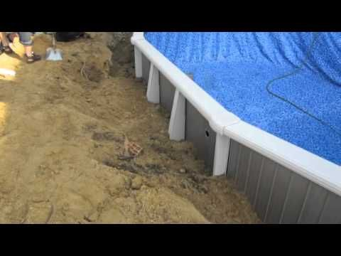 Do it yourself oval above ground swimming pool installation 1 of 2 do it yourself oval above ground swimming pool installation 1 of 2 solutioingenieria Images
