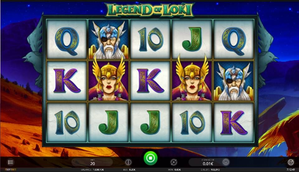 Legend Of Loki Slot Machine
