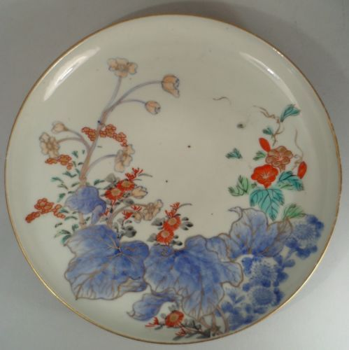Japanese Antique Imari Porcelain Plate with Kakiemon Style & Japanese Antique Imari Porcelain Plate with Kakiemon Style ...
