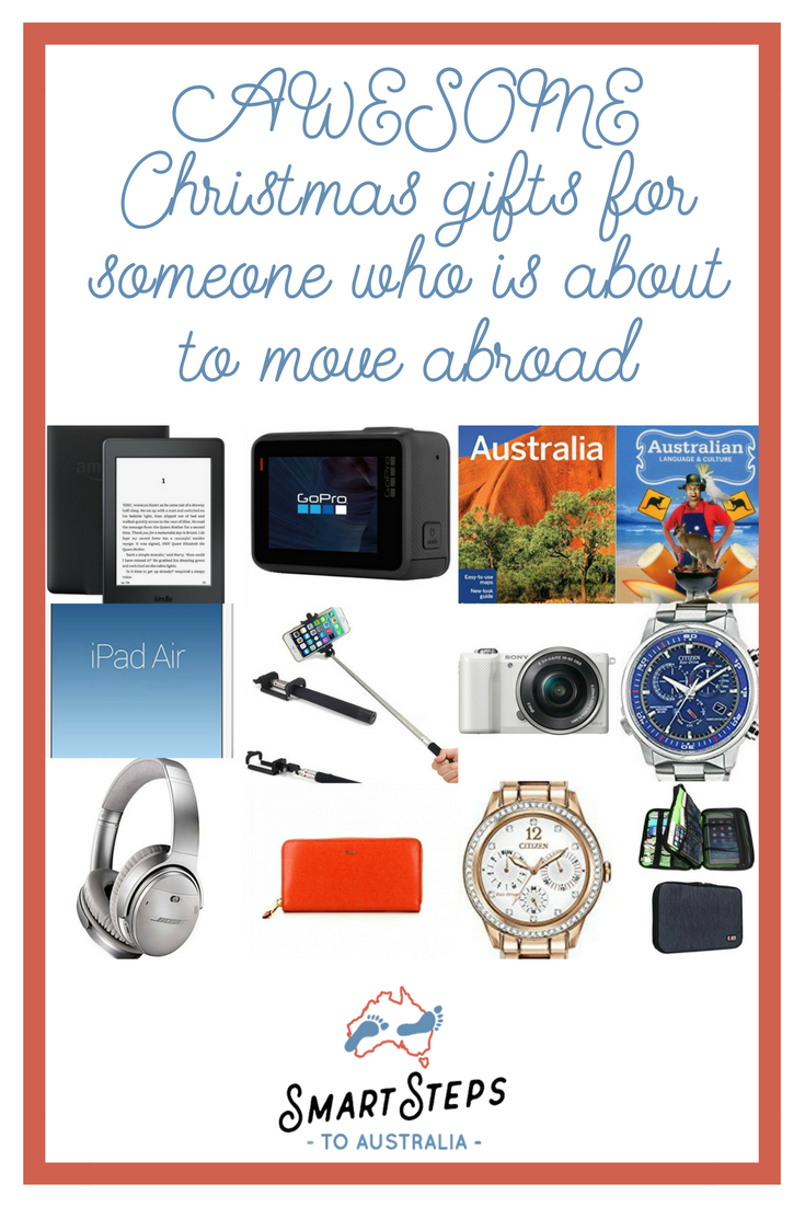 Christmas Gift Guide For Anyone Moving To Australia Smartstepstoaustralia Moving To Australia Christmas Gift Guide Flying With Kids