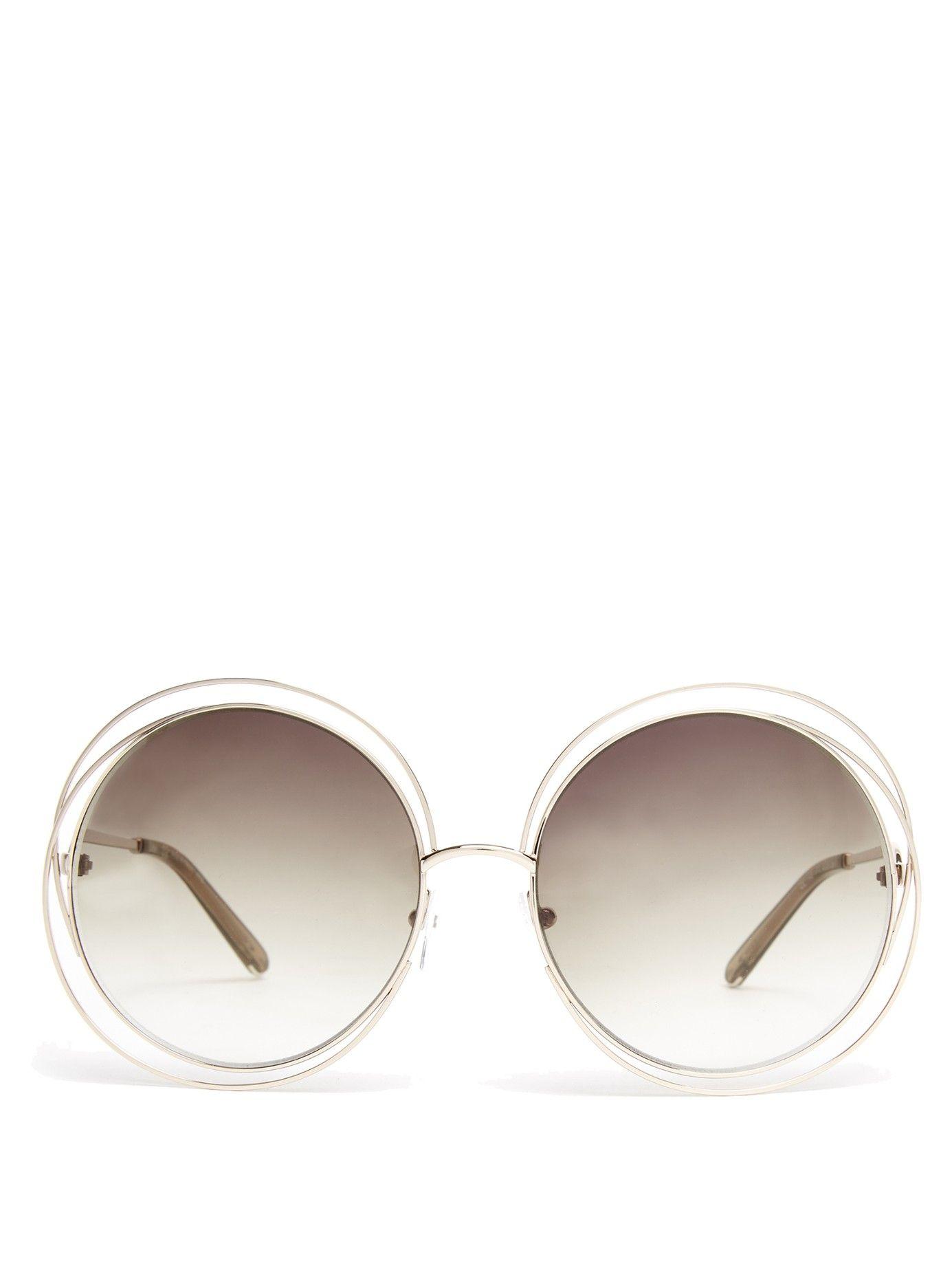 7315d1bd5610 Carlina round-frame sunglasses