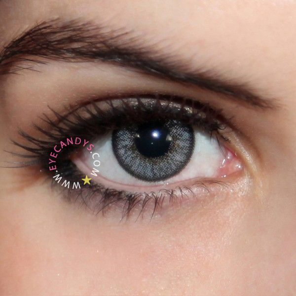 Grey Contacts | Grey Colored Contacts & Circle Lens ...