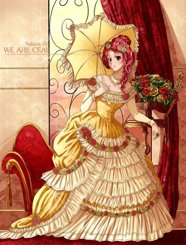 Pin On Victorian Anime Girls