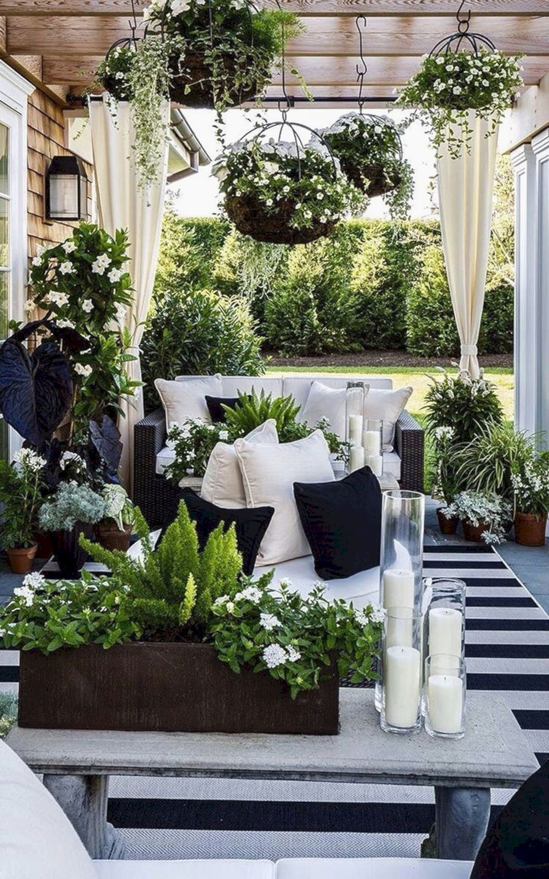 Patio Design With Best Hanging Plants