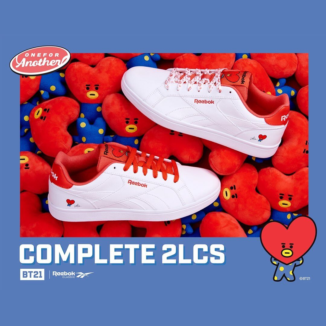 Aislante Ahora Competir  BT21 x REEBOK | Credit to the owner. Do not delete. #BT21 #TATA | Bts  clothing, Nice shoes, Pop shoes