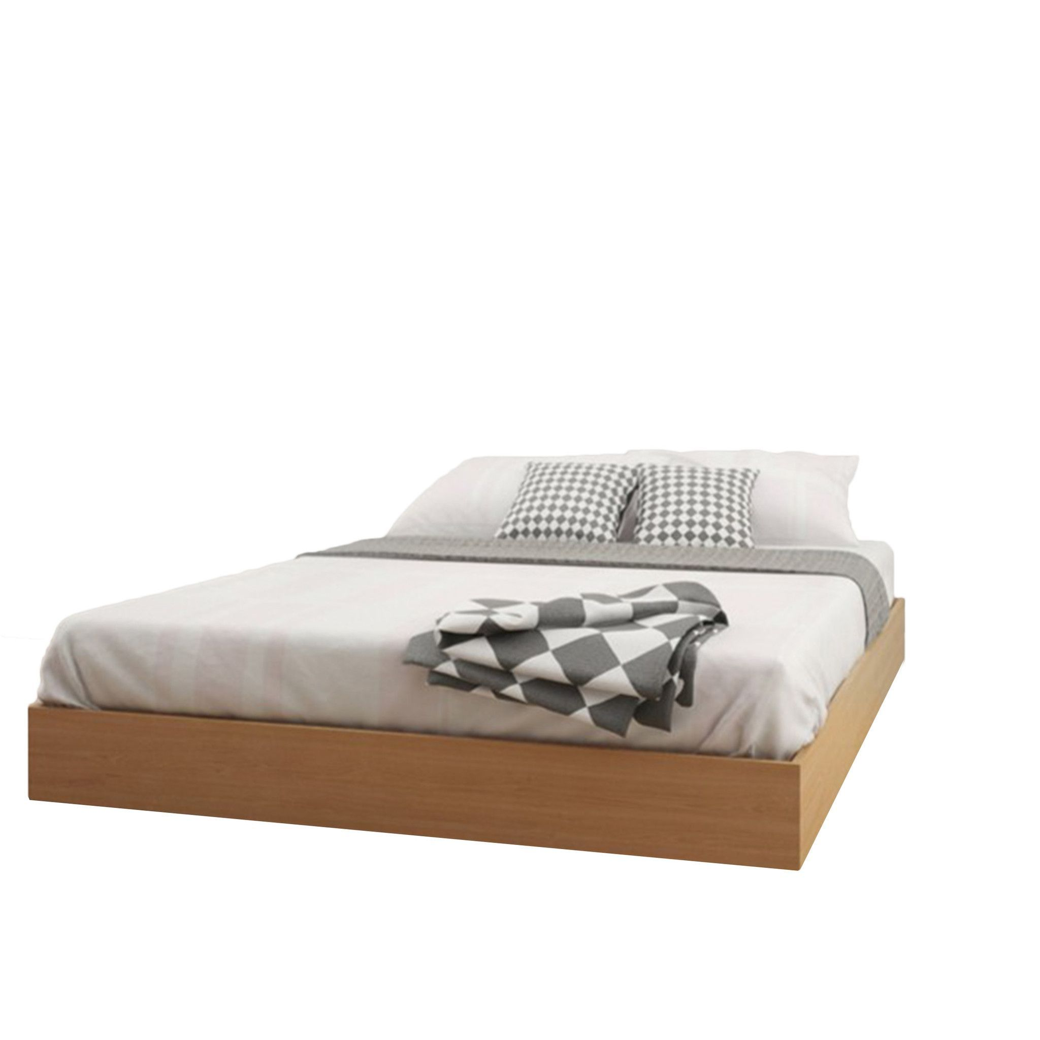 Blanes Queen Size Platform Bed   Products   Pinterest