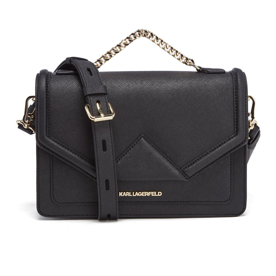Buy Karl Lagerfeld Women's K/Klassik Shoulder Bag - Black here at MyBag - the only online boutique you'll need for luxury handbags and accessories. Free delivery now available.