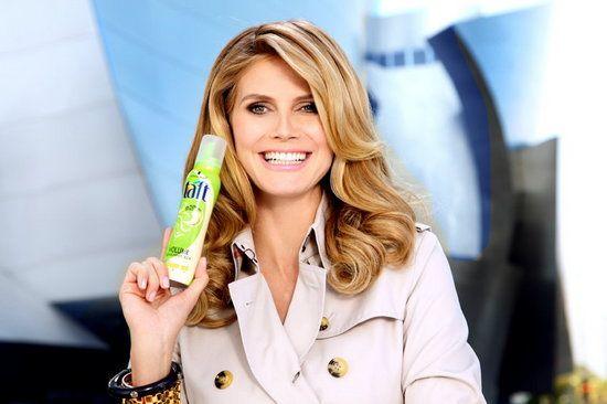 2010 | Heidi Klum for Drei Wetter Taft #heidiklum #ad #campaign #2010 | Drei  wetter taft
