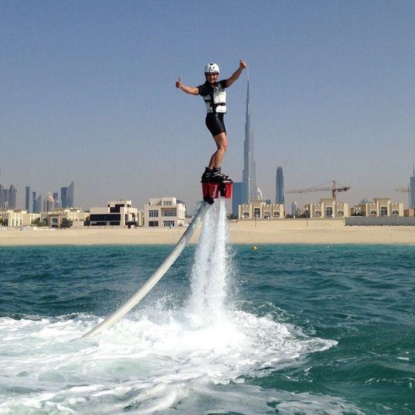 FlyBoarding at Jumeirah Beach شاطئ جميرا in دبي, دبي