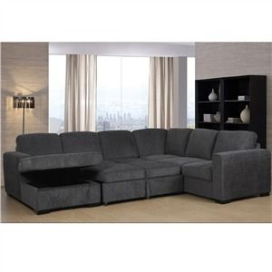 Claire Full Sleeper Sectional With Sto Furniture And Mattress Outlet