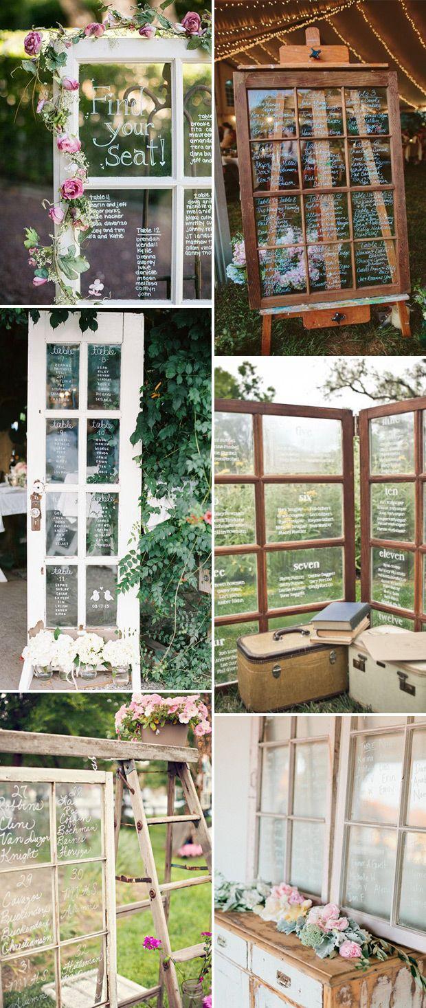 Window pane ideas  glass and mirror table plans u menus  vintage pastel  pinterest