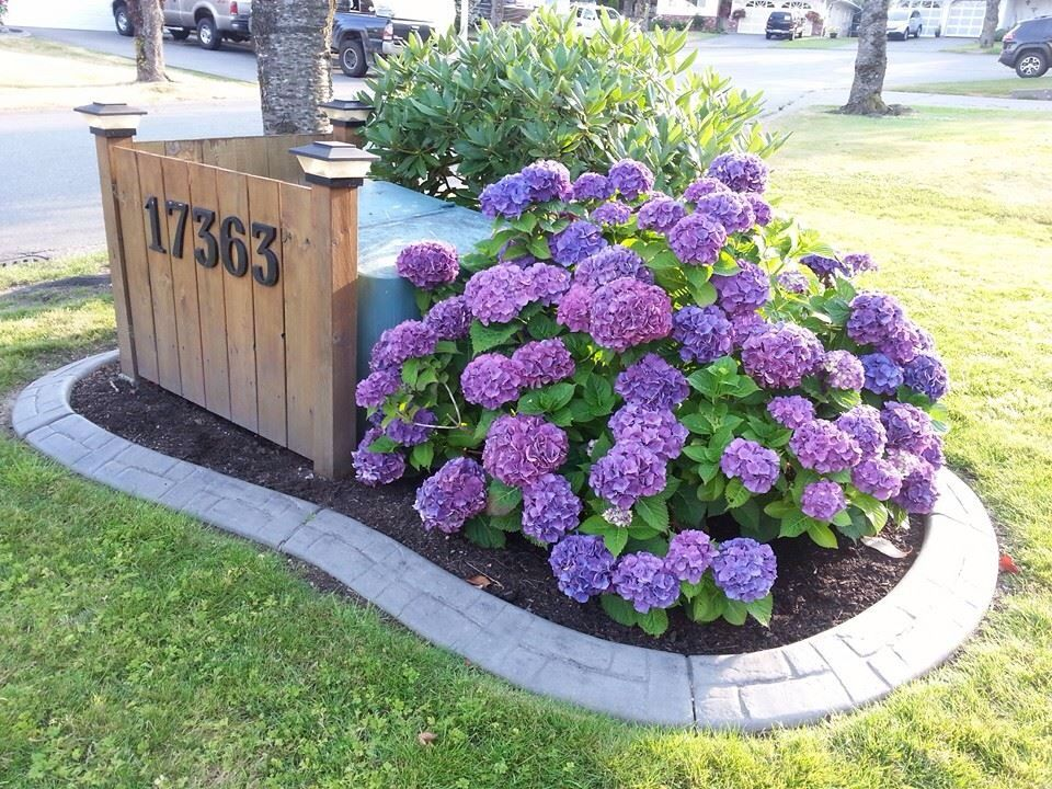 To Cover Our Bc Hydro Box On Our Front Lawn House Ideas
