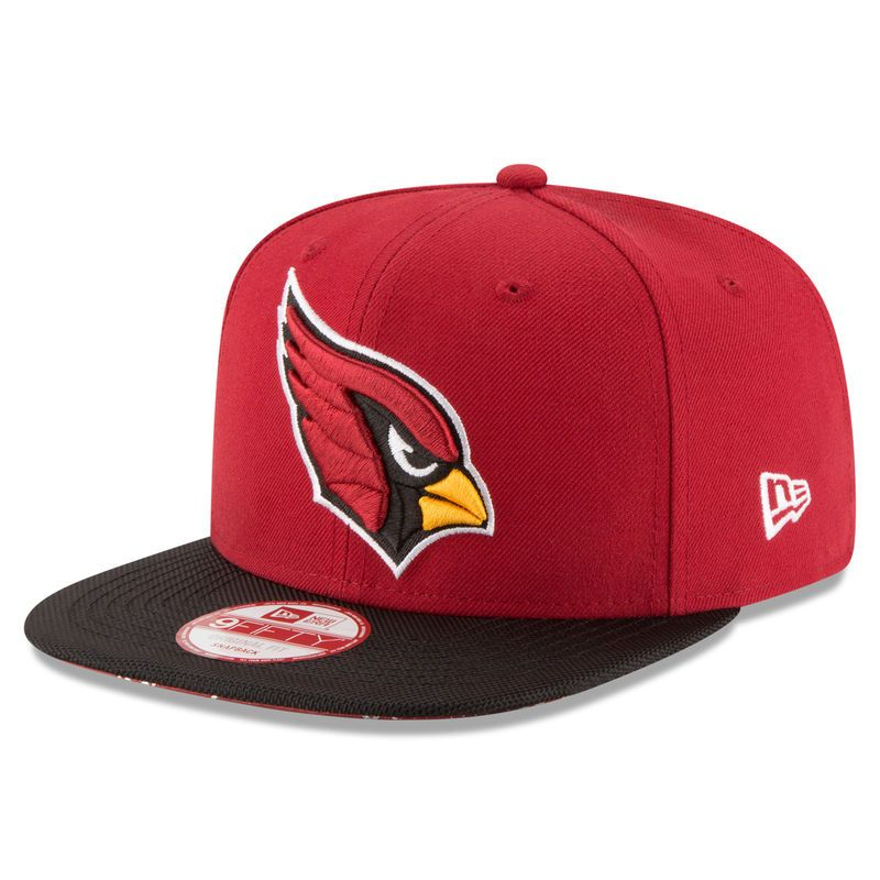 Arizona Cardinals New Era 2016 Sideline Official Original Fit 9FIFTY  Snapback Adjustable Hat - Cardinal 3dc0d6219