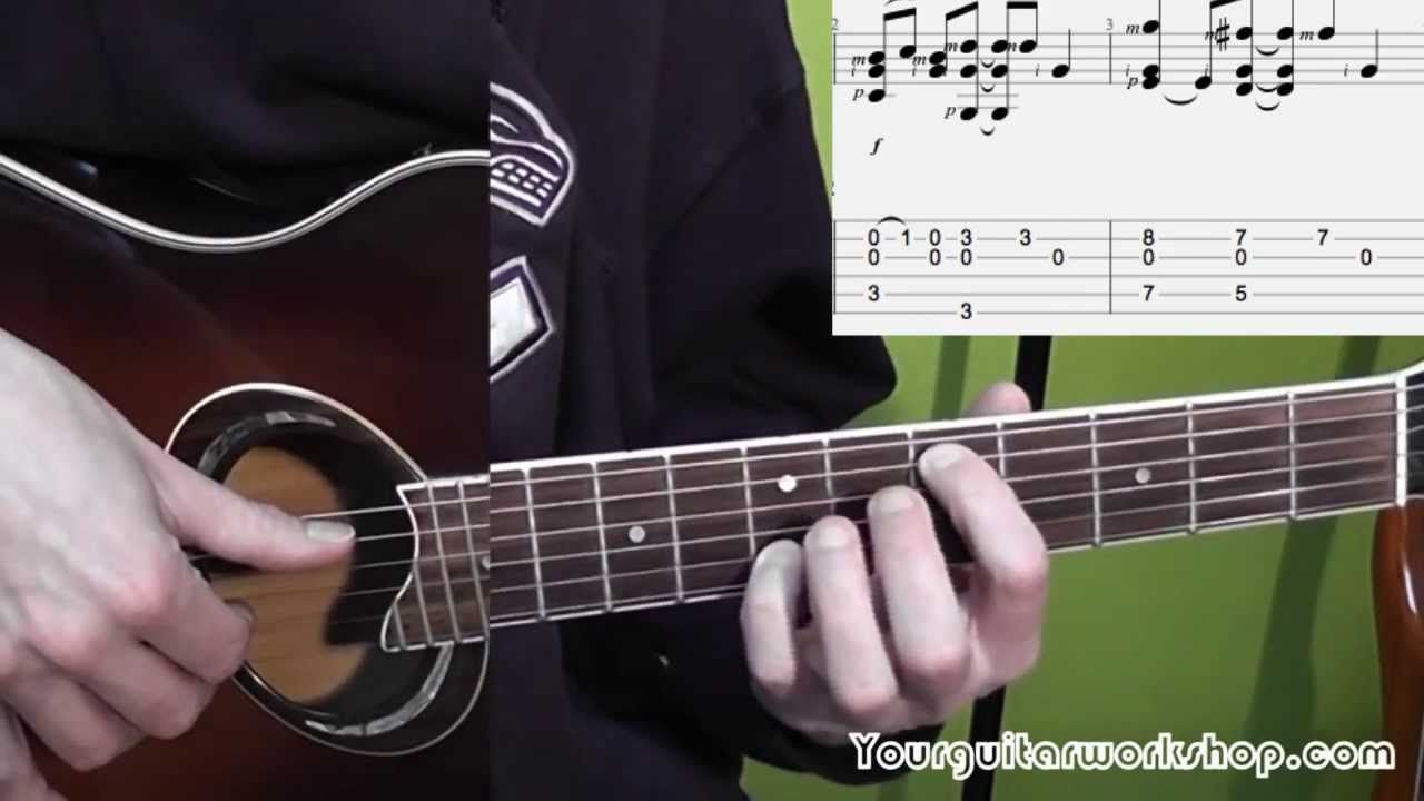 Guitar Lesson How To Play Fast Car Tracy Chapman
