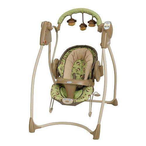 graco duo 2in1 swing u0026 bouncer monkey business http
