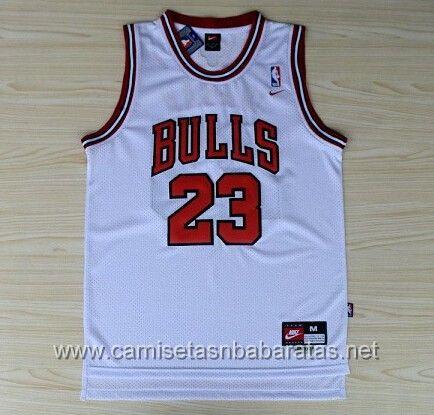 dd65ec24b camisetas NBA Chicago Bulls  23 Jordan Blanco €19.99