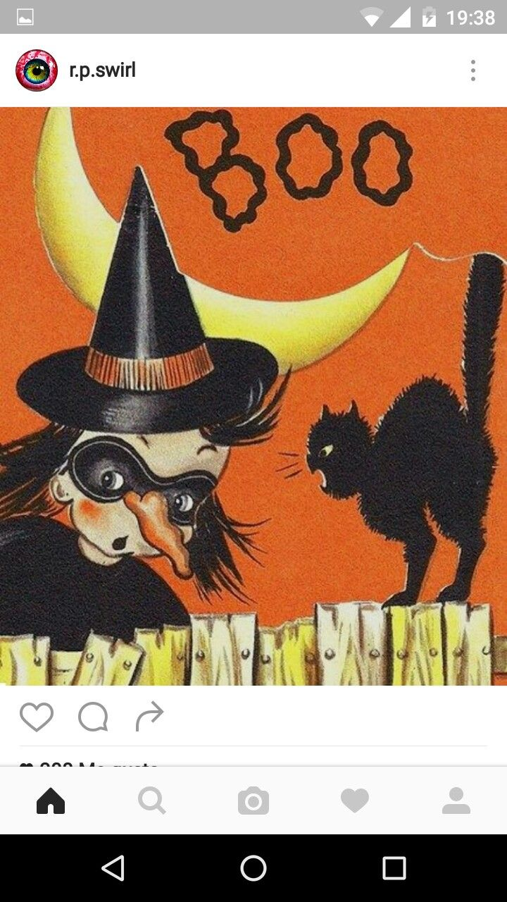 Explore Vintage Halloween Cards And More!