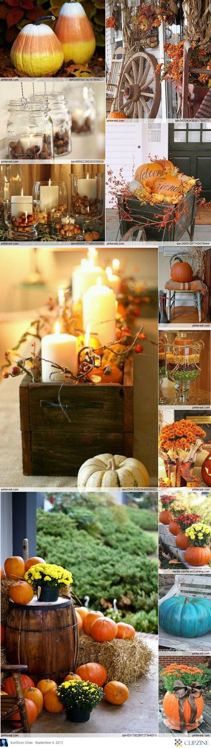 Fall Decorating Ideas   Fall   Pinterest   Thanksgiving  Holidays     Fall Decorating Ideas